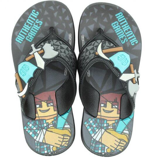 Chinelo Infantil Authentic Games Masculino