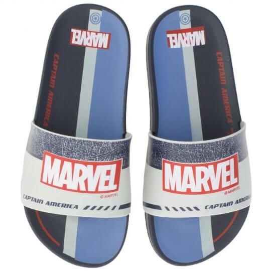 Chinelo Infantil Avengers Defender Slide Masculino