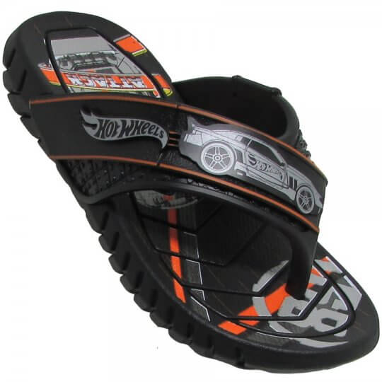 Chinelo Infantil Hot Wheels Super Flop Masculino