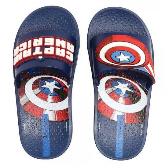 Chinelo Infantil Ipanema Avengers Capitão América Masculino