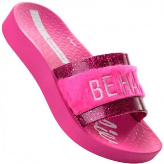 Chinelo Infantil Ipanema Barbie Slide Feminino
