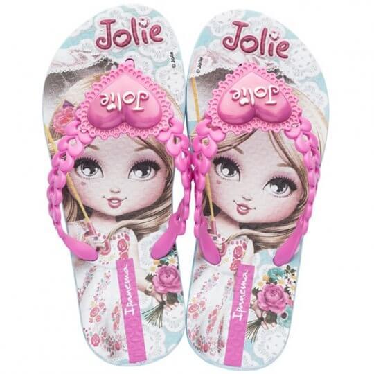 Chinelo Infantil Ipanema Jolie Amor Feminino