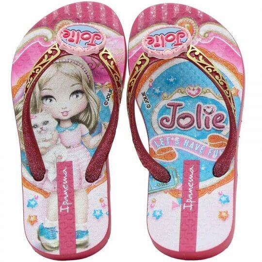 38713e9fd Chinelo Infantil Ipanema Jolie Amor Feminino - Decker Online!