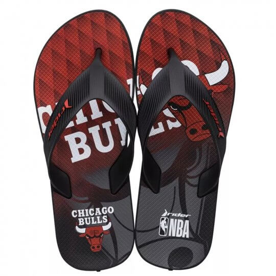 Chinelo Rider Strike NBA Chicago Bulls Masculino