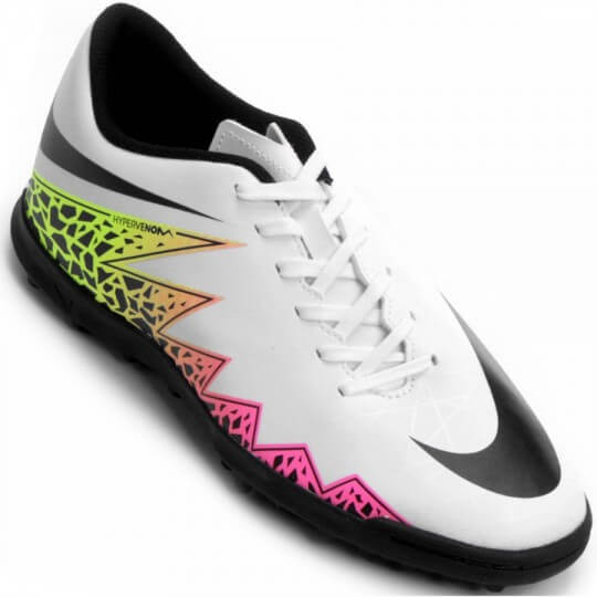 c121b95612 Chuteira Nike Hypervenom Phade 2 TF Society Masculina - Decker!