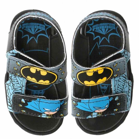 Sandália Baby DC Friends Batman Masculina