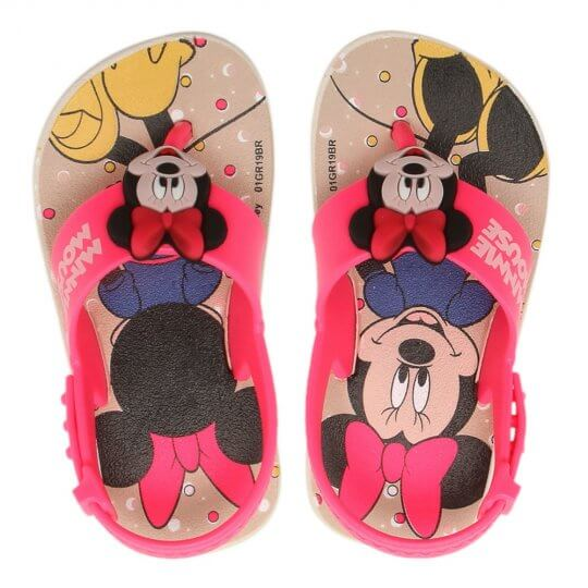 Sandália Baby Disney Friends Minnie Feminina