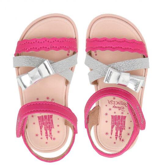 Sandália Baby Disney Princesas Sparkle Feminina