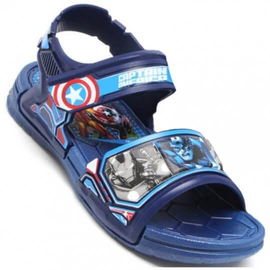 Sandália Infantil Avengers Epic Capitão América Masculina