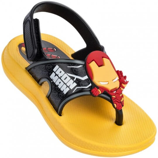 Sandália Baby Avengers Toy Homem de Ferro Masculina