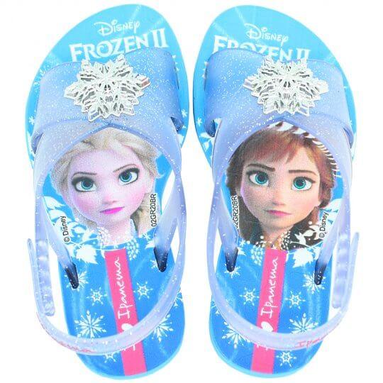 Sandália Infantil Frozen II Glitter Feminina