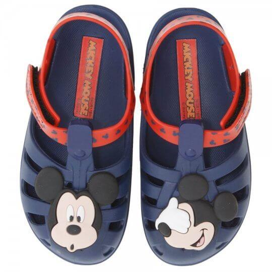 Sandália Infantil Mickey e Minnie Soft Baby Masculino