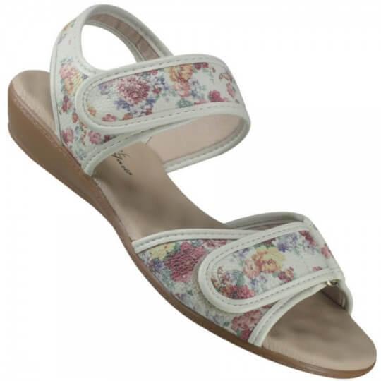 Sandália Modare Floral Feminina