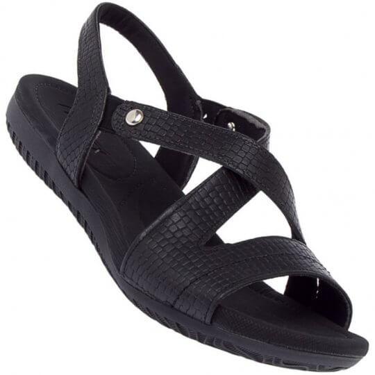 Sandália Usaflex Malibu New Croc Feminina