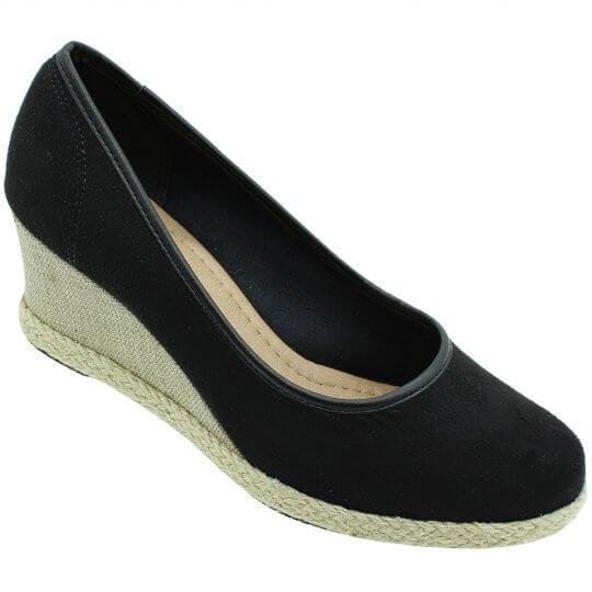 Sapato Beira Rio Camurça Flex Feminino