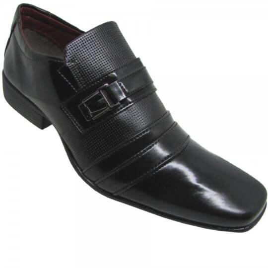 Sapato Social Masculino Da Costa Verniz