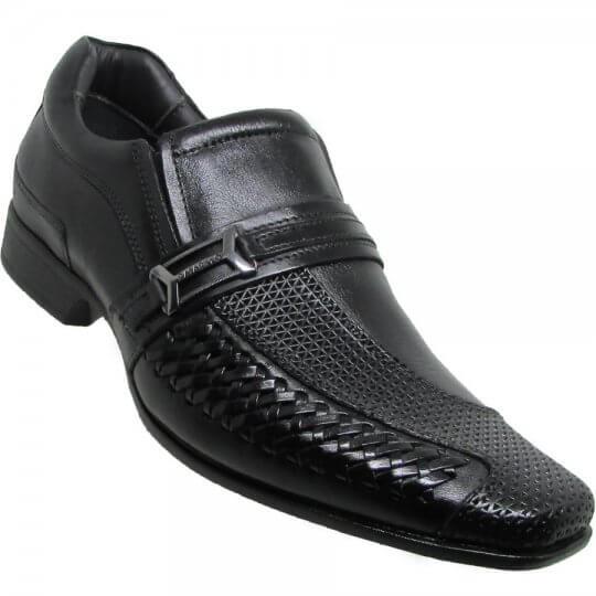 Sapato Social Rafarillo Las Vegas Metalizado Masculino