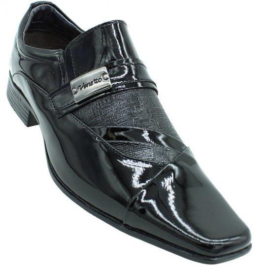 Sapato Social Venetto Verniz Masculino
