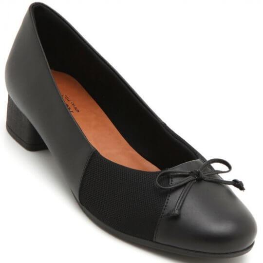 Sapato Usaflex Laço Joanete Soft Feminino
