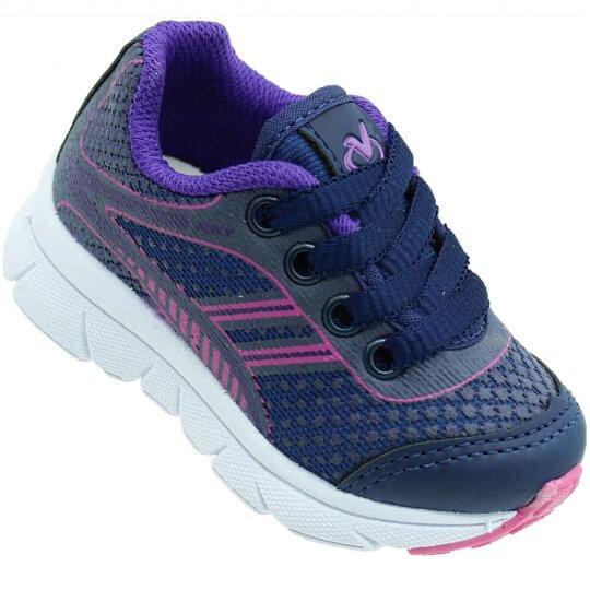 Tênis Infantil Via Vip Jogging Feminino