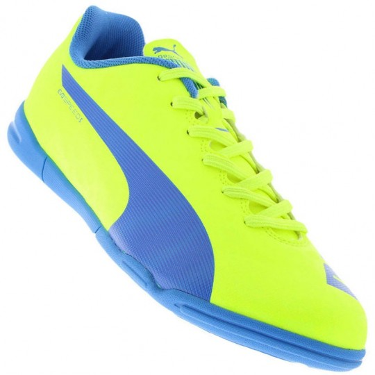 a2192e9248647 Chuteira Puma EvoSpeed 5.4 IT Indoor Futsal Masculino - Decker!