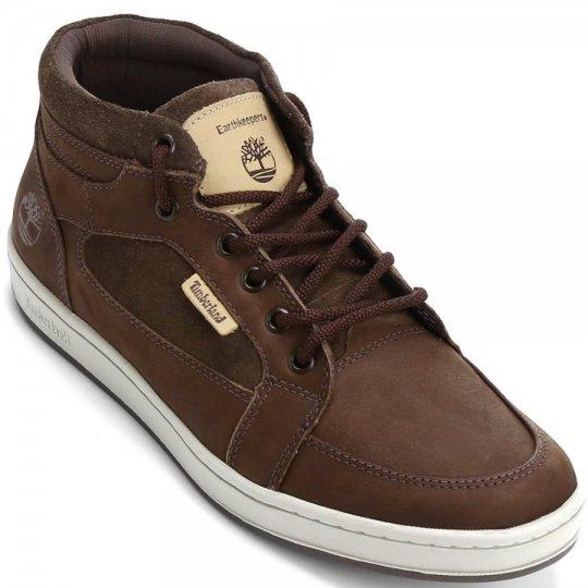 Tênis Timberland EK Packer Leather Chukka Casual