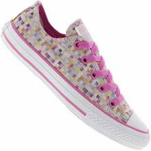 Tênis Infantil Converse All Star CT AS Spardrille Pop Ox Casual Feminino