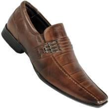 Sapato Calprado Napa Vegetal Social S/ Cadarço Masculino