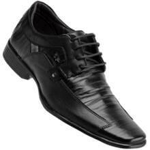Sapato Calprado C/ Cadarço Social Couro Masculino