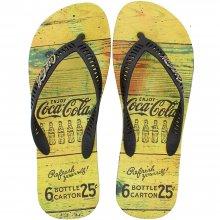 Imagem - Chinelo Coca Cola Bottle Carton Masculino  cód: CC33472