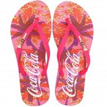 Imagem - Chinelo Coca Cola Conceptual Print Feminino  cód: CC3150