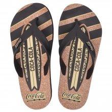 Imagem - Chinelo Coca Cola Deck Fit Surf Board Masculino  cód: CC2817