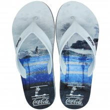 Imagem - Chinelo Coca Cola Deck Fit Surf Board Masculino  cód: CC2820