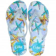 Imagem - Chinelo Coca Cola Deep Ocean Feminino cód: CC2996