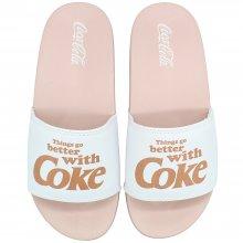 Imagem - Chinelo Coca Cola Go Better Slide Feminino  cód: CC2958