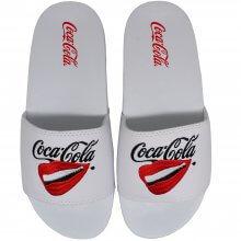 Imagem - Chinelo Coca Cola Lips Slide Feminino  cód: CC3162