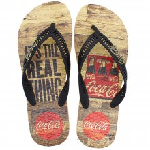 Imagem - Chinelo Coca Cola Real Pack Masculino cód: CC3100