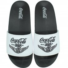 Imagem - Chinelo Coca Cola Wings Slide Masculino  cód: CC2954