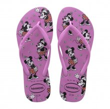 Chinelo Havaianas Slim Disney Minnie Feminino