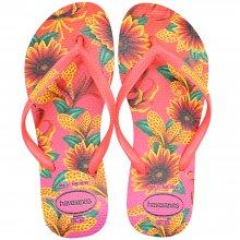 Imagem - Chinelo Havaianas Slim Floral Feminino cód: 41298487600
