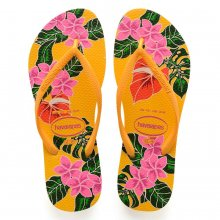 Imagem - Chinelo Havaianas Slim Floral Feminino cód: 41298481652