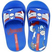 Chinelo Infantil Avengers Capitão América Slide Masculino