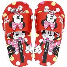Imagem - Chinelo Infantil Disney Minnie Slide Feminino  cód: 2642423508