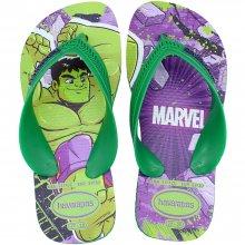 Imagem - Chinelo Infantil Havaianas Kids Max Marvel Masculino cód: 41470062703
