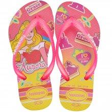Imagem - Chinelo Infantil Havaianas Kids Slim Princesas Feminino cód: 41233285784