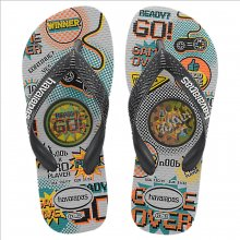 Imagem - Chinelo Infantil Havaianas Kids Top Holographic Masculino  cód: 41459463498
