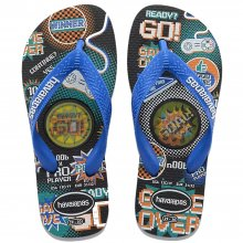 Imagem - Chinelo Infantil Havaianas Kids Top Holographic Masculino  cód: 41459460090
