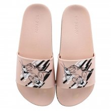 Chinelo Zaxy Warner Tom E Jerry Slide Feminino