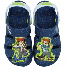 Imagem - Clog Infantil Authentic Games Blocks Masculino  cód: 2225120200