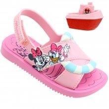 Imagem - Sandália Baby Disney Shower Feminina Com Barquinho cód: 2217120819